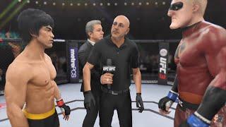 Bruce Lee Vs Mr Incredible PHENOMENAL!!! | EA Sports UFC 3