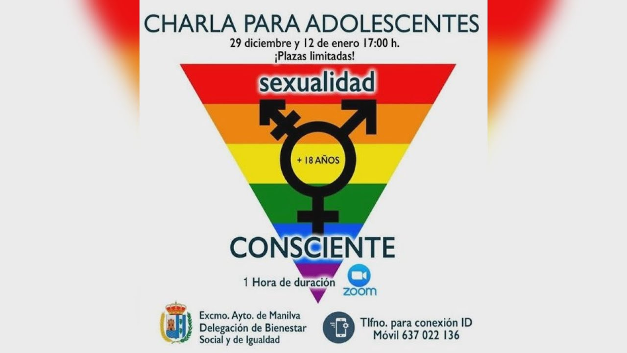 Charlas de sexualidad para los jóvenes