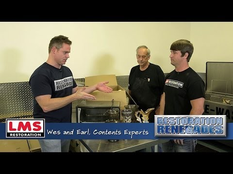 LMS Contents Restoration Experts Restore Personal Effects After a Disaster