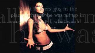 AALIYAH-What If (Lyrics)