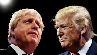 Trump Warns Johnson on Brexit Deal: `You Can't Trade'
