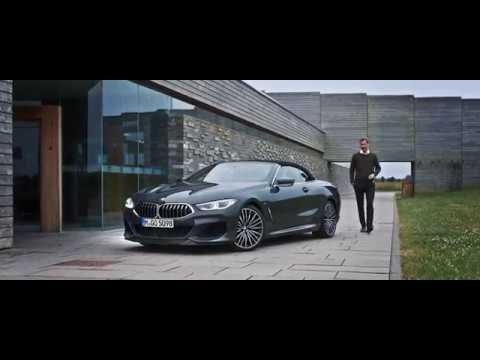 Nouvelle BMW Série 8 Cabriolet.