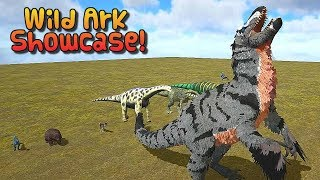 Ark Survival - ADDITIONAL CREATURES 2: WILD ARK SHOWCASE + BATTLE WITH GIGA  [Ep.316]