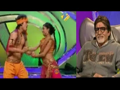 Kunwar and Kruti's Performance Amazes Amitabh Bachchan - Dance India Dance Season 2