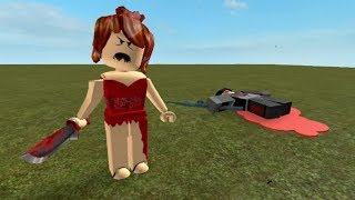 Survive from Red Dress Girl | Roblox