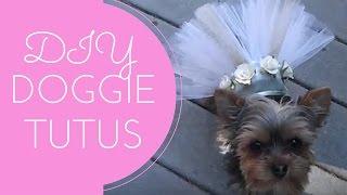DIY Yorkie Dog Tutus Tutorial