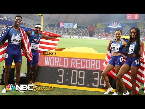 Every track world record shattered in 2019 | NBC Sports