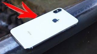 ЧТО ЕСЛИ ПОЕЗД - ПЕРЕЕДЕТ iPhone X ?!
