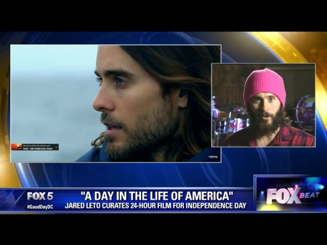 "Jared Leto on ""A Day in The Life of America"" Documentary Project"