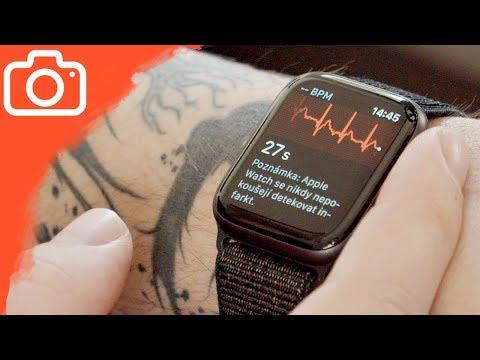 Jak zprovoznit EKG na Apple Watch v ČR?