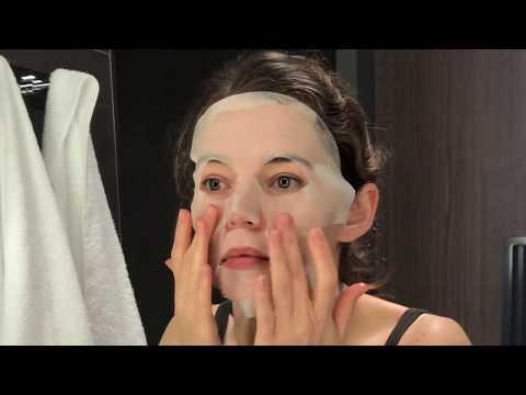 Maska na vrásky na pokožku