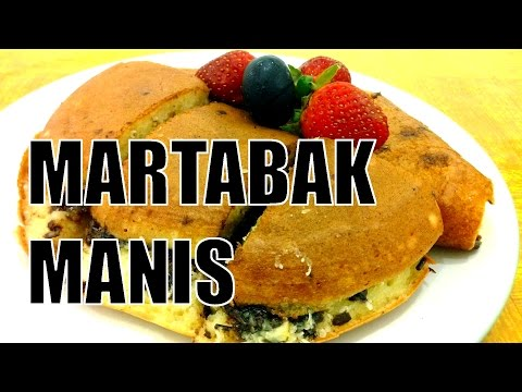 Video Resep dan Cara Membuat Martabak Manis | Sweet Martabak Recipe