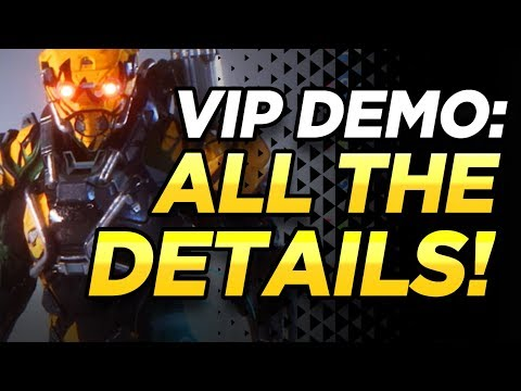 Anthem VIP Demo | Everything You Need To Know