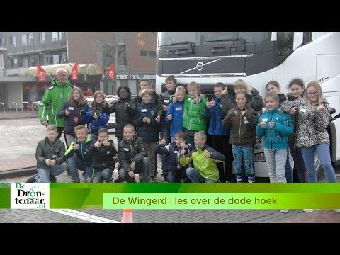 VIDEO | Basisscholen in Biddinghuizen leren over gevaren van de dode hoek