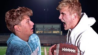 Thanksgiving Football With JAKE PAUL! (Gone Wrong)