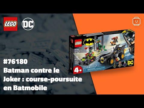 Vidéo LEGO DC Comics 76180 : Batman contre le Joker : course-poursuite en Batmobile