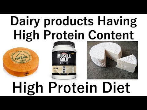 High Protein Diet: Top 15 Dairy Products with High Protein Content