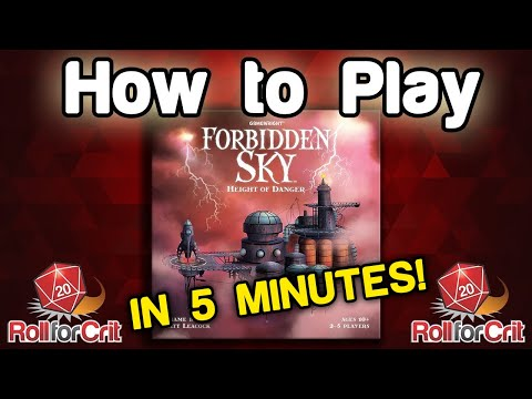 How to Play Forbidden Sky | Roll For Crit