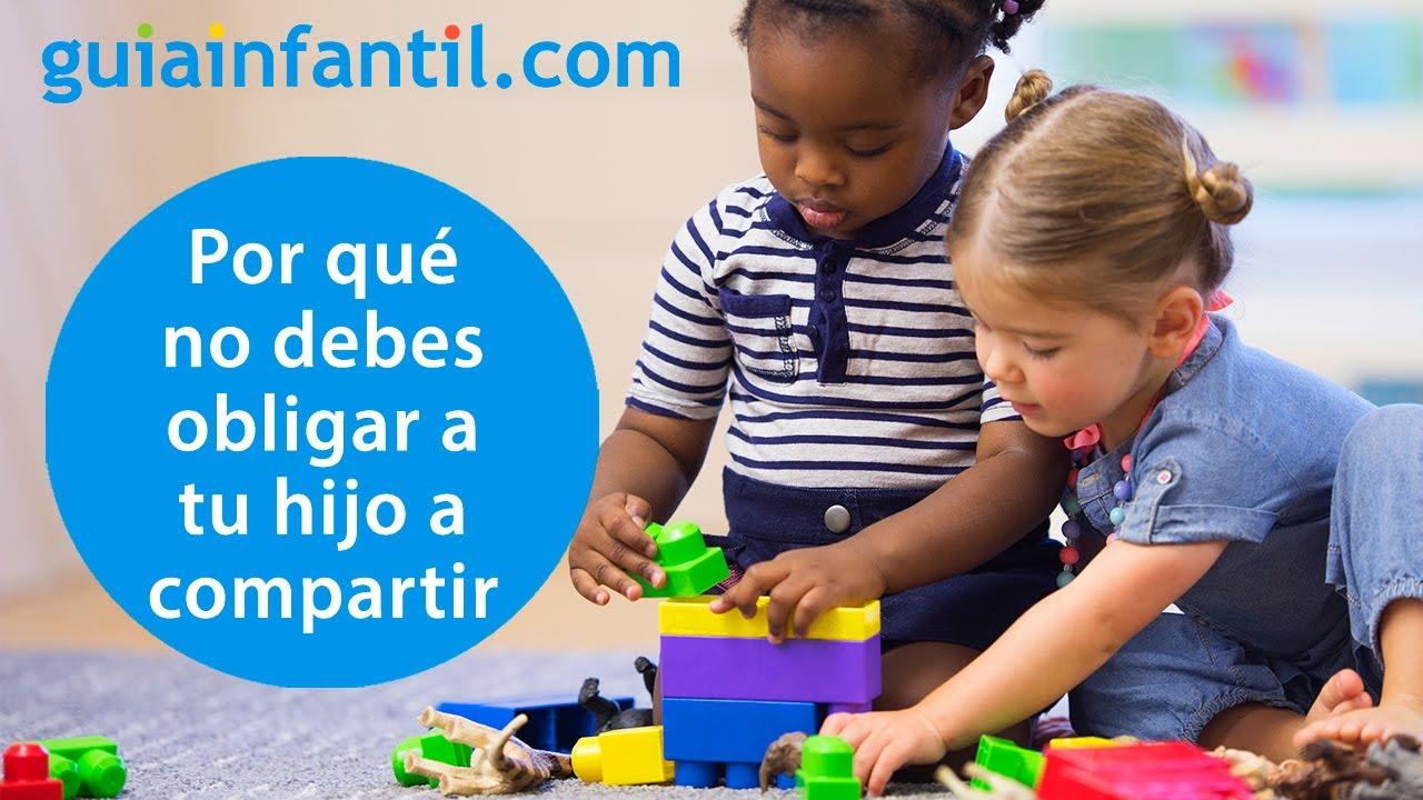Cómo enseñar a los niños a compartir
