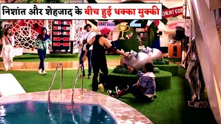 Bigg Boss 14 : Nishant Malkani And Shehzad Deol fights Again In BB Mall Task