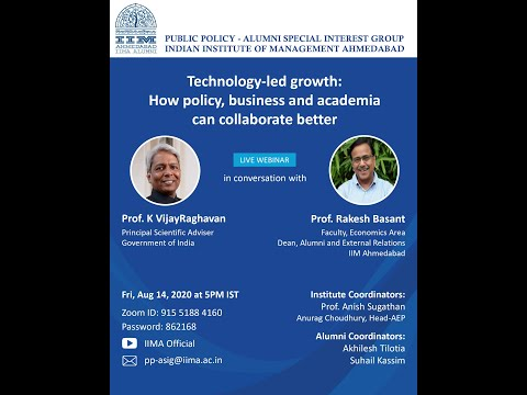 "Technology-led growth: How policy, business & academia can collaborate better"" by PSA"