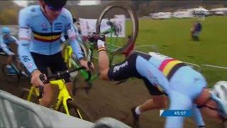 Crashes & Close Calls of 2017/18 Cyclocross Season HD