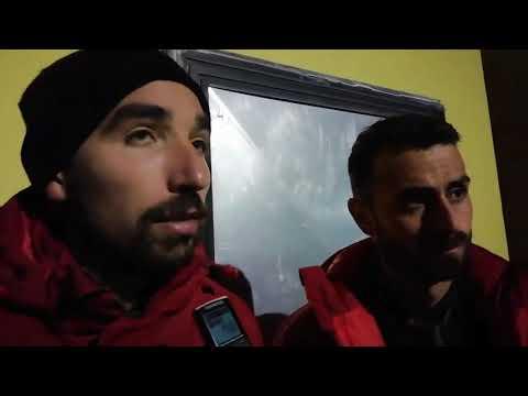 Post partita Gubbio-Triestina: Alessandro Lambrughi e Andrea Scrugli