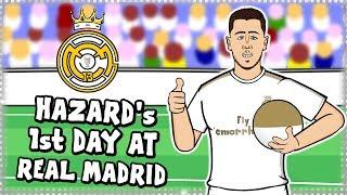 ⚪EDEN HAZARD's FIRST DAY AT REAL MADRID⚪