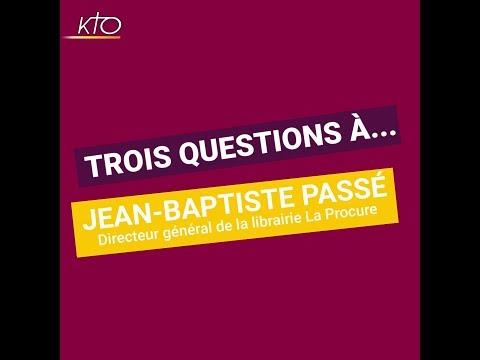 Trois questions à... Jean-Baptiste Passé, directeur général de la librairie La Procure