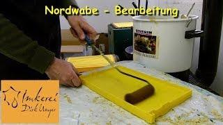 preview picture of video 'Januar 2014: Nordwabe / Kunststoffwabe - von der Altwabe wieder'