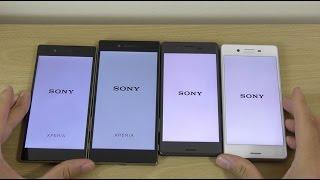 Sony Xperia X Performance Vs X Vs Z5 Vs Z5 Premium - Speed Test!