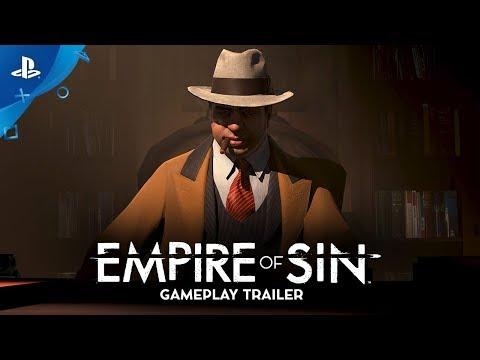 Gamescom 2019 Gameplay Trailer  de Empire of Sin