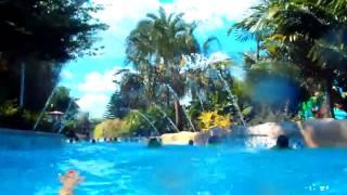 № 2127 США Аквапарк ЛЕНИВАЯ РЕКА Aquatica Orlando  Fl Lazy river 14.03.2012