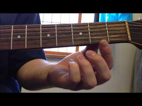 Acoustic Guitar Beginner Lesson - Finger Sliding