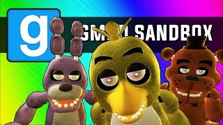Gmod: Five Minutes at Freddy's (Garry's Mod Sandbox Funny Moments)