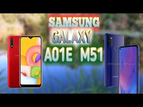 SAMSUNG GALAXY M51 VA GALAXY A01E MODELLARINI TAYYORLAMOQDA