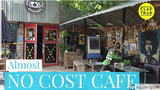 CAFE DESIGN WITH WASTE & JUNK