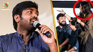 Vijay Sethupathi Trolls VJ Priyanka On Stage   Junga Audio Launch   Yogi Babu