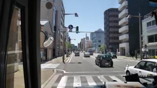 【前面展望】新潟駅前~三条・燕~長岡駅前【越後交通バス】
