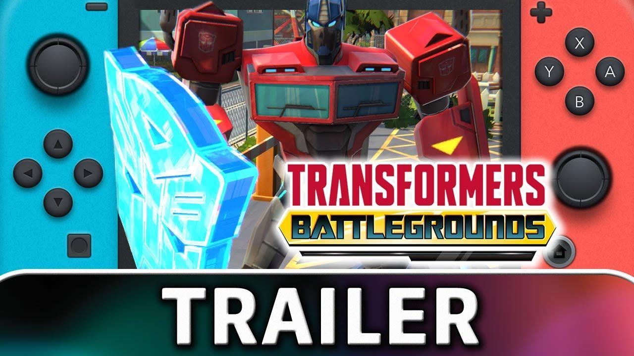 Transformers: Battlegrounds | Nintendo Switch Trailer