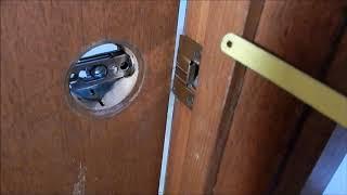 Door Latch Stuck Closed