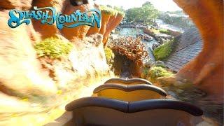 New Splash Mountain Full Experience POV Magic Kingdom, Walt Disney World 2017   BrandonBlogs