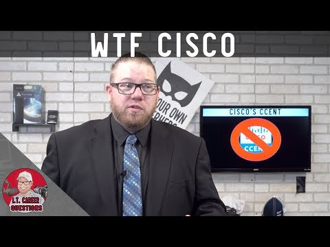 New CCNA Certification - No More CCENT! & More in 2020! WTF ...