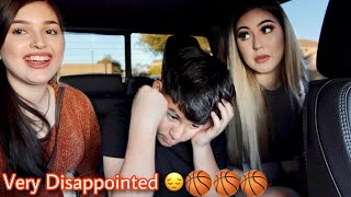 Ethan's Basketball Game Didn't Go As Planned!!!