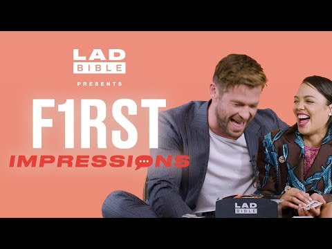 Chris Hemsworth's impression of Chris Pratt is hilarious! | First Impressions