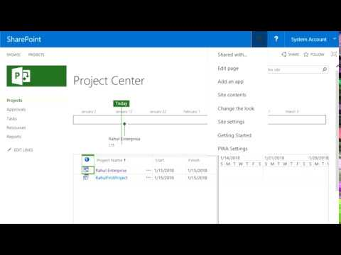 Convert SharePoint Task list to Enterprise Project in PWA