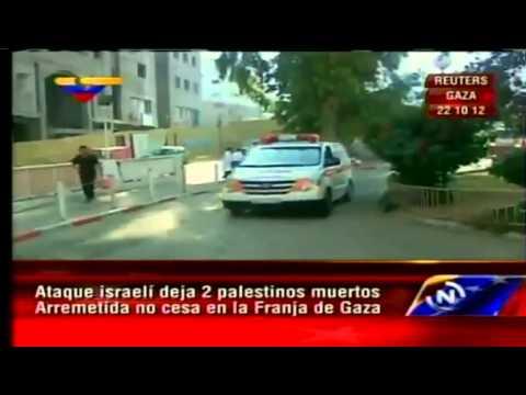 Ataque terrorista israelí deja 2 palestinos muertos en Gaza
