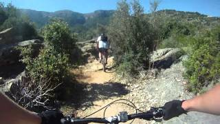 preview picture of video 'Soller Valley Technical MTB Trails.'