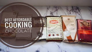 Best Affordable Cooking / Baking Dark Chocolate Brand in India | Shaiby Agrawal