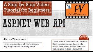 C# ASP.NET Web API 2.2  made easy using a Project